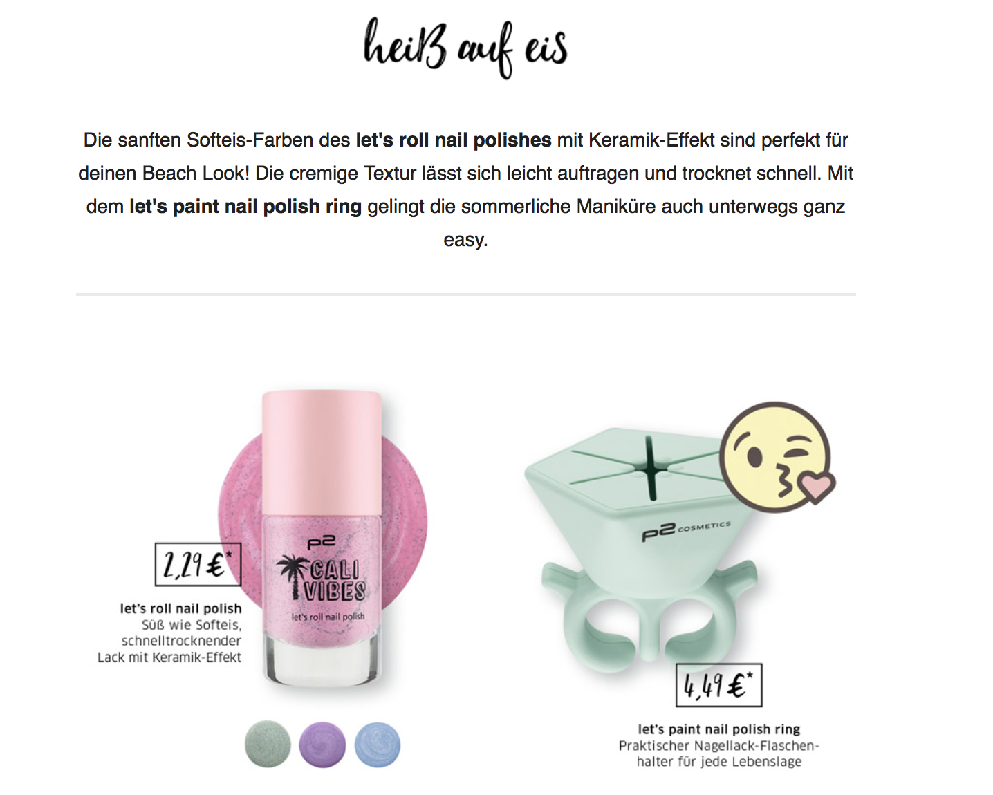 """[Preview] P2 """"Cali Vibes"""" Limited Edition – Julias Beauty Blog"""