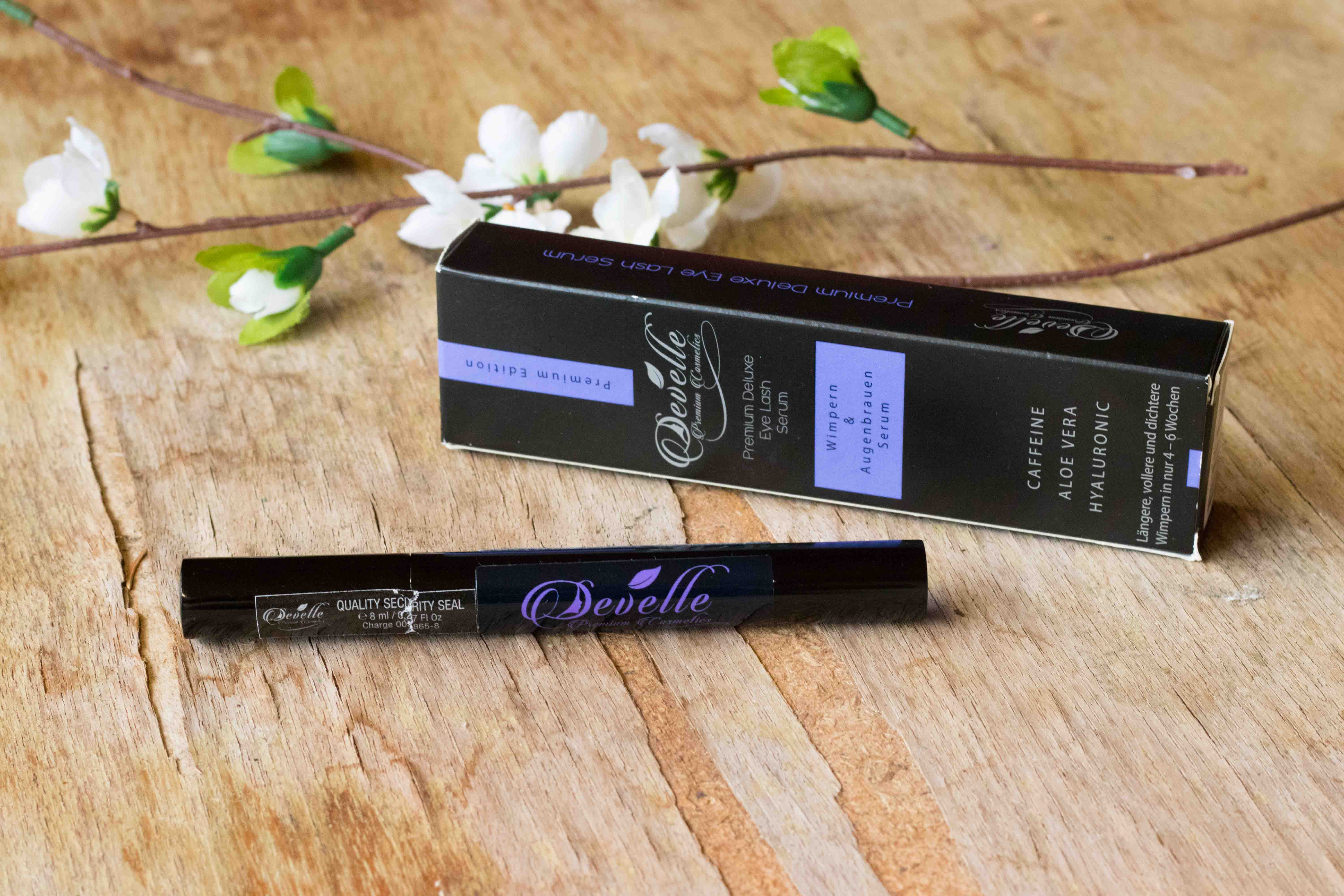 Develle Wimpern und Augenbrauen Serum Premium Deluxe Eye Lash Serum Review