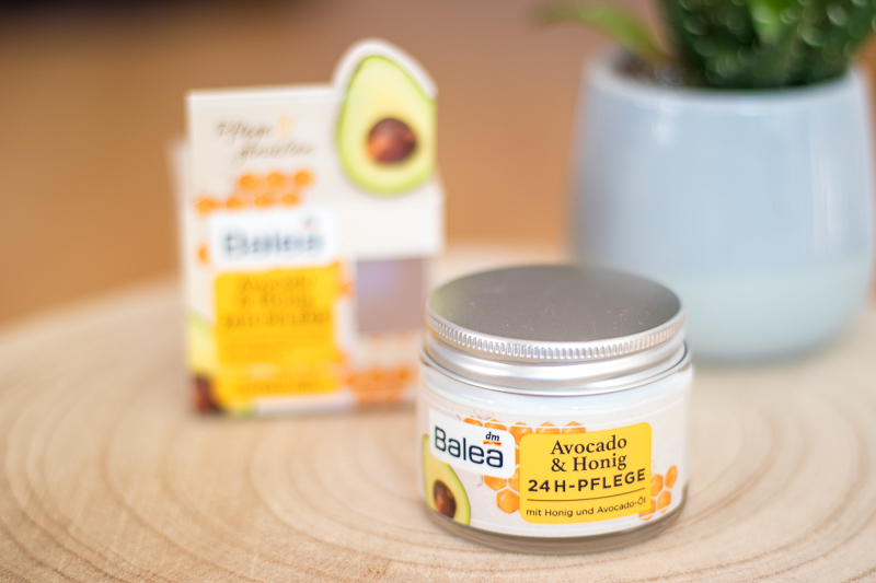 Balea Avocado & Honig 24h Pflege Review JuliasBeautyBlog